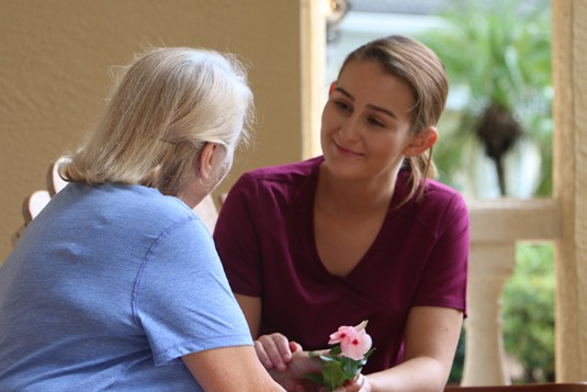 In-Home Caregiver from Granny NANNIES of Volusia County